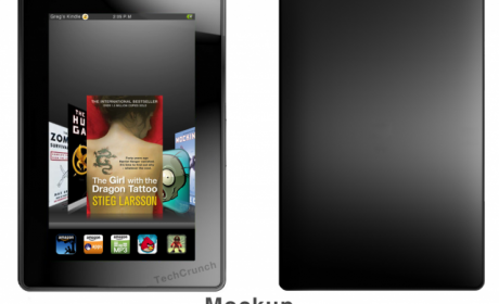 Mockup of The Android Kindle