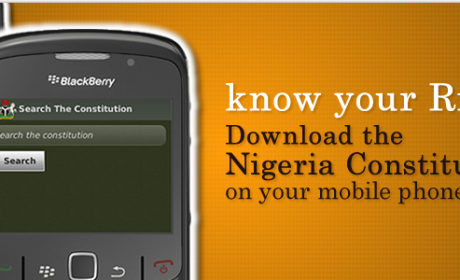 The Nigerian constitution app