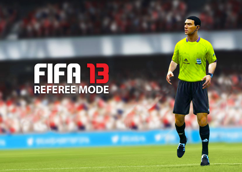 FIFA 13 Referee Mode