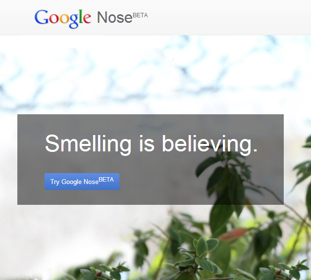 Google Nose BETA