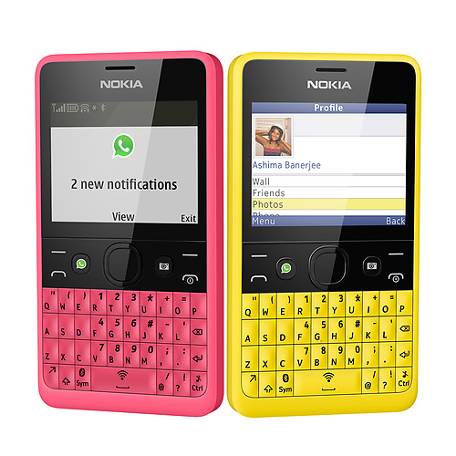 Nokia's Asha 210 Comes With A Dedicated WhatsApp Button [SPECS