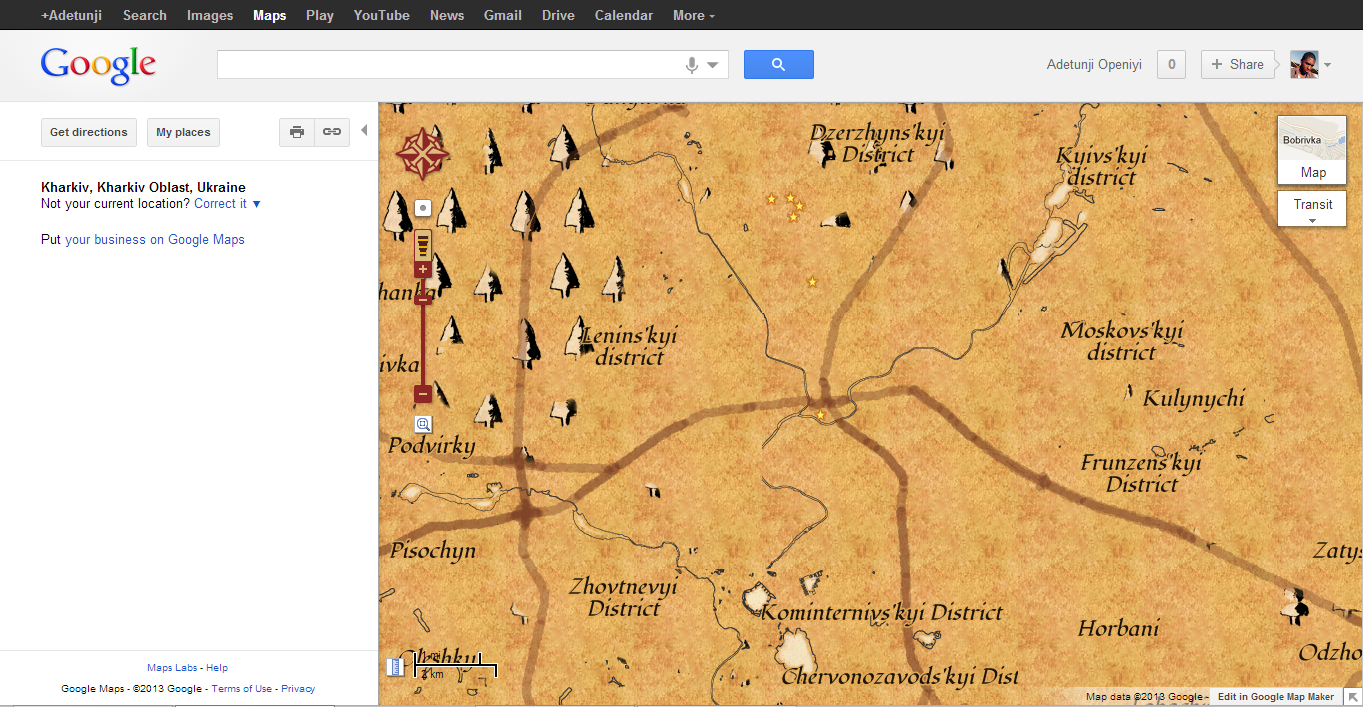 Ye Olde Map