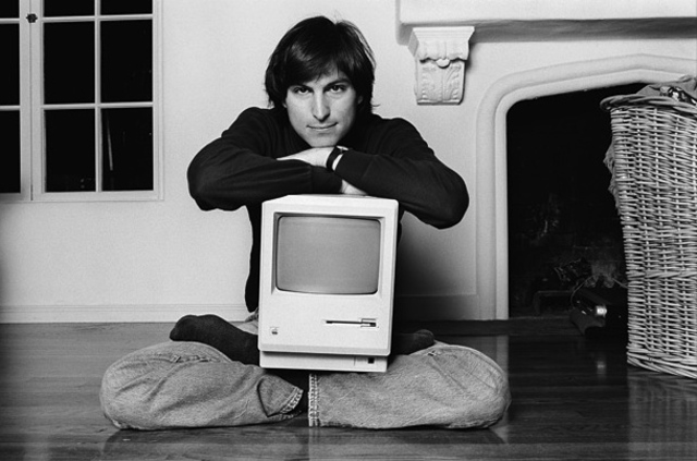 Steve Jobs First Macintosh Unveiling